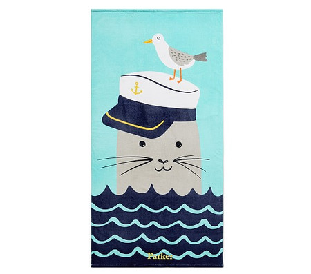 Seal Kids Beach Towel