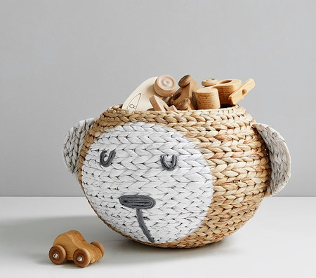 Shaped Monkey Nursery Storage