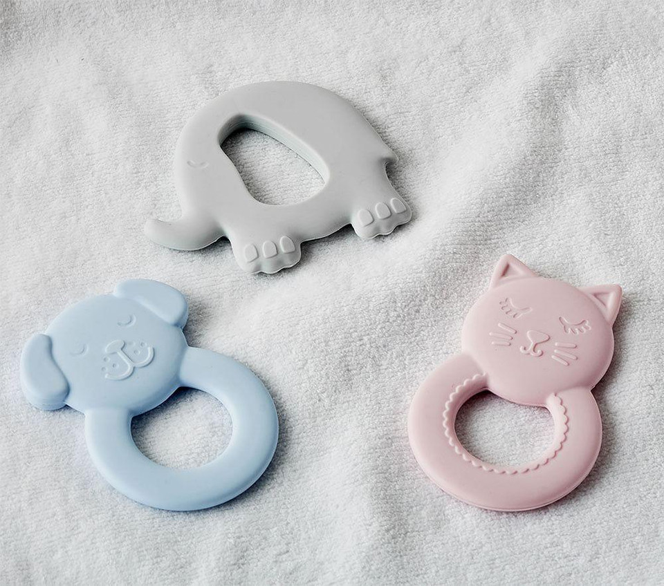 Silicone Animal Teethers
