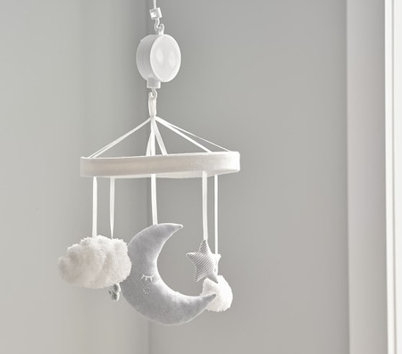 Skye Moon & Stars Musical Cot Mobile
