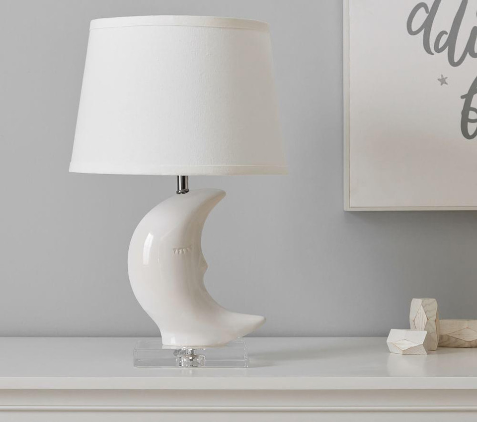 Sleepy Moon Table Lamp