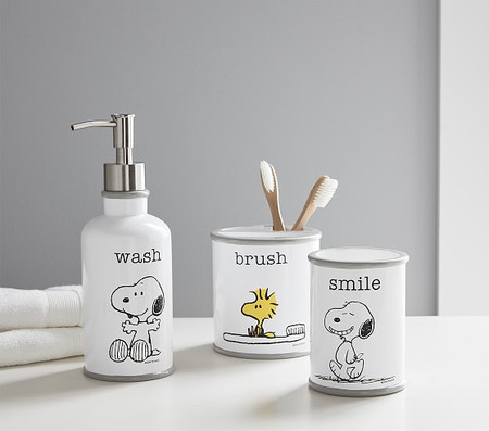 Snoopy Bathroom Accessories Set