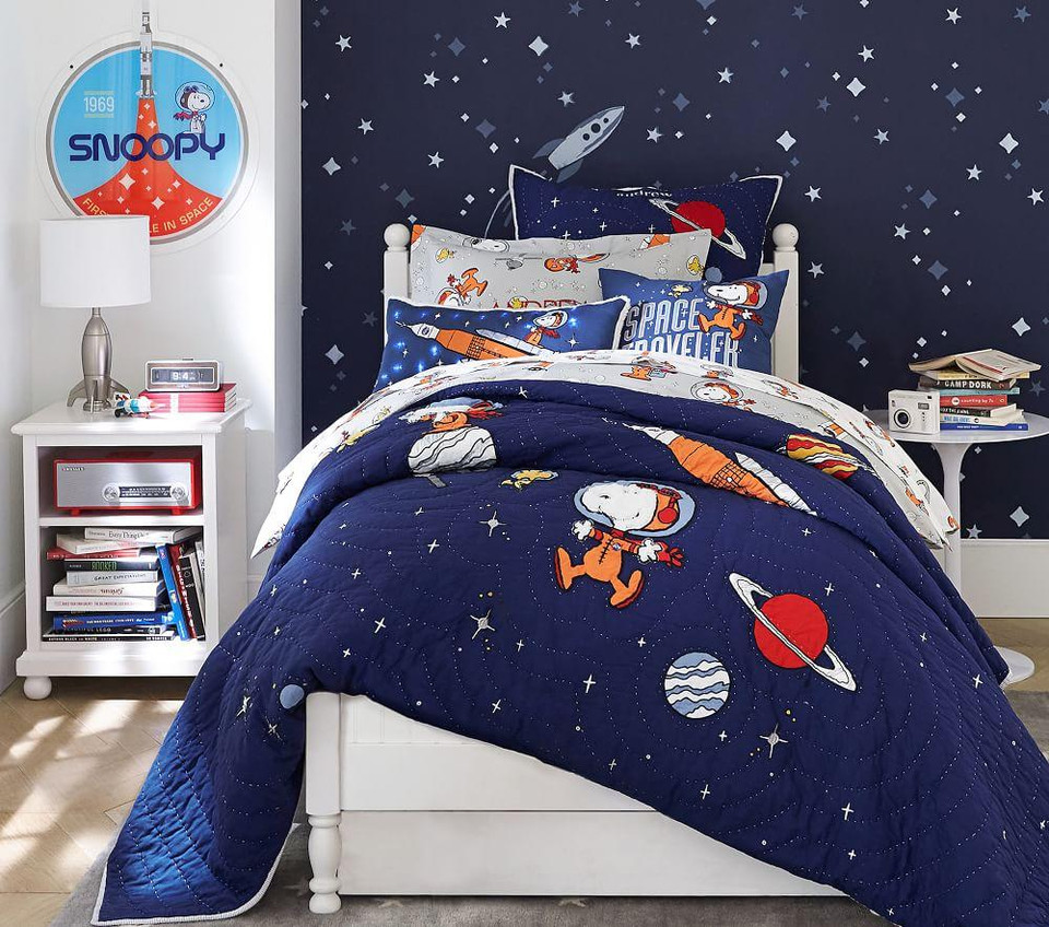 Snoopy® Space Traveller Cushion Cover