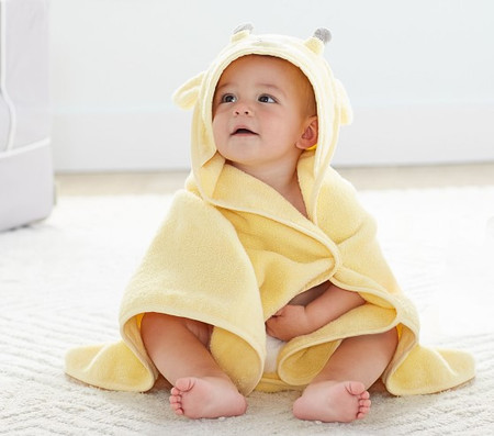 Super Soft Giraffe Hooded Towel & Wash Cloth