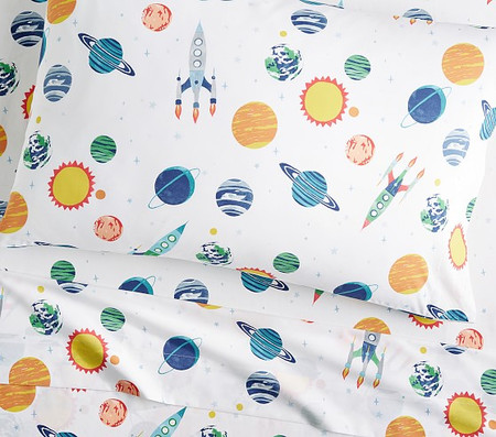 Solar System Glow-in-the-Dark Sheet Set