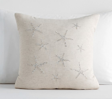 Sparkle Starfish Cushion