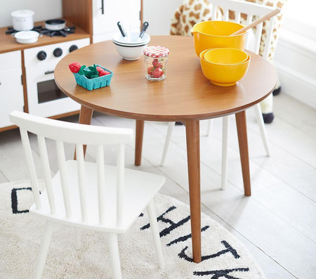 west elm x pbk Spindle Play Table