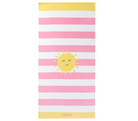 Sunshine Stripe Beach Towel