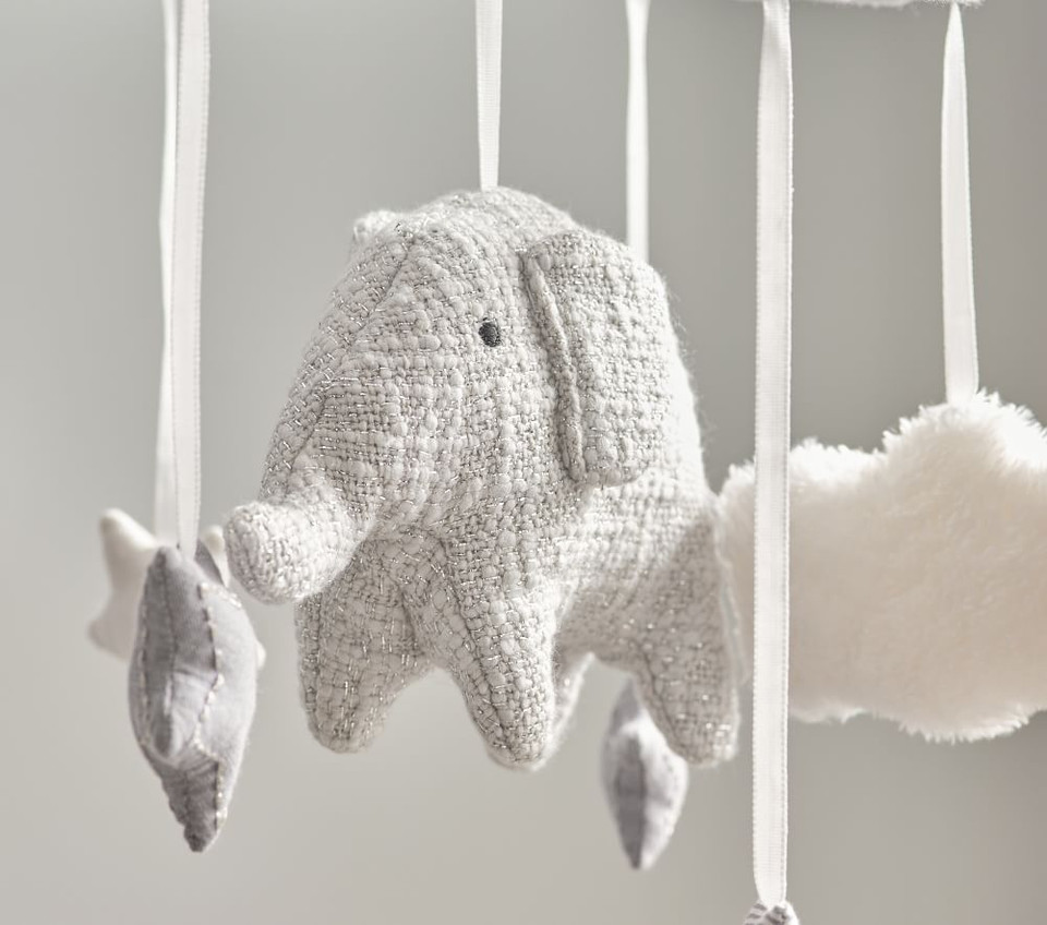 Taylor Elephant Musical Cot Mobile