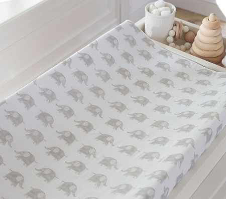 Taylor Muslin Changing Pad Cover