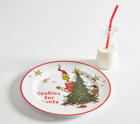 Dr. Seuss's The Grinch Cookies For Santa Set