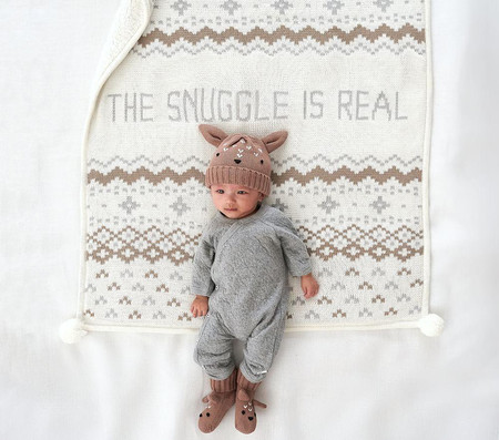 The Snuggle Is Real Baby Blanket