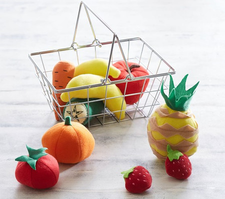 Mini Grocery Basket - Fruit