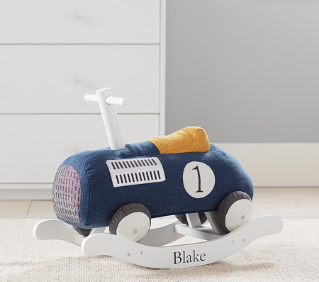 Vintage Car Nursery Rocker