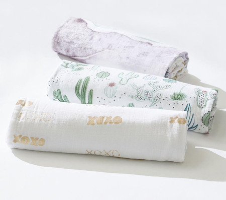 Watercolour Muslin Swaddle Set