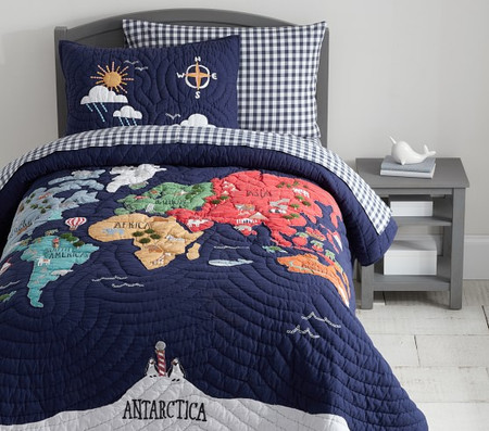World Map Comforter